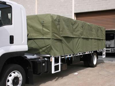 Truck Side Curtain Canvas Tarpaulin